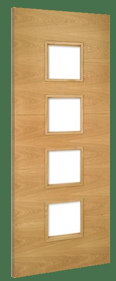 Deanta Doors Internal Augusta Unglazed Pre-Finished Door