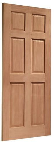 XL Joinery External Hardwood Dowelled Colonial 6 Panel Door
