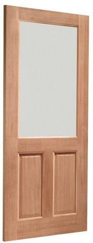 XL Joinery Dowelled 2XG Single Glazed Clear Glass Door