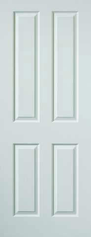 JB Kind Internal White Canterbury Smooth Fire Door