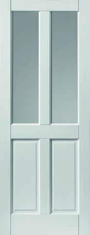 JB Kind External Colonial 4 Panel Glazed Extreme Door