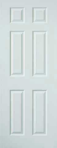 JB Kind Internal White Colonist Grained Door