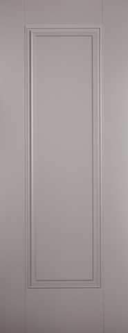 LPD Internal Grey Eindhoven 1 Panel Primed Fire Door