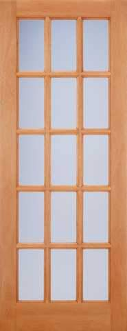 LPD External M&T Hardwood SA77 Frosted Glazed Door