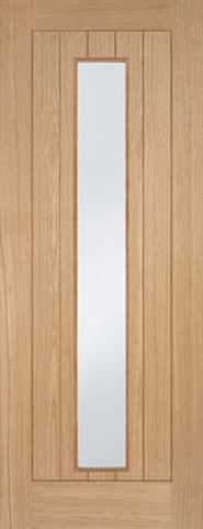 LPD Internal Prefinished Oak Somerset Glazed Door