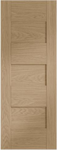 XL Joinery Internal Oak Pre-Finished Perugia Fire Door