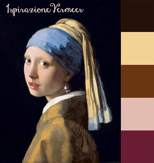 Lo stile di Vermeer, ispirazione settecentesca in chiave moderna.