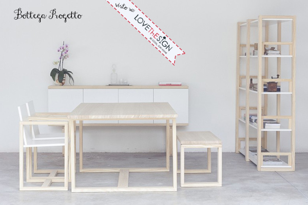 L'arte antica del falegname e la modernità delle forme da Bottega Progetto.