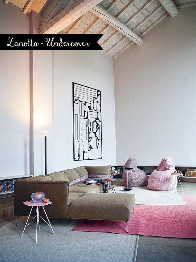 divani più belli saloni 2014 Undercover Zanotta 2