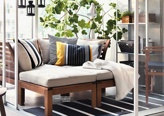 cuscini Ikea ispirazione