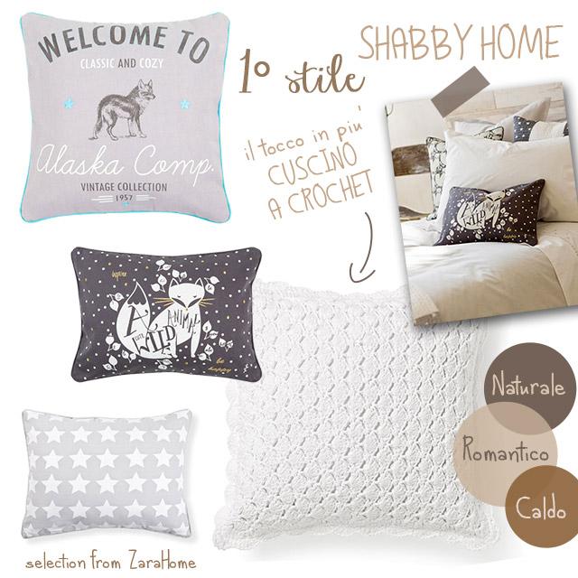 Selezione di Zara Home per cuscino arredo divano.