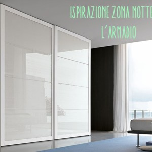 Tomasella Armadio Anta Scorrevole 4 settori: colore bianco.