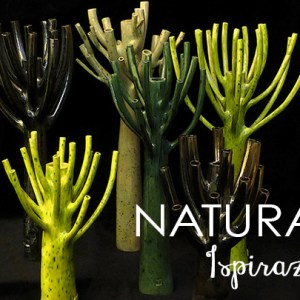 Vaso da interno design Naturalia Fos immagine