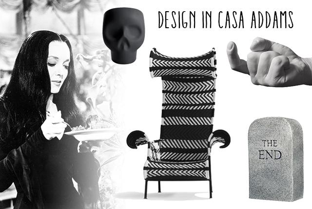 Design in casa Addams.