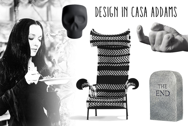 Design in casa Addams.