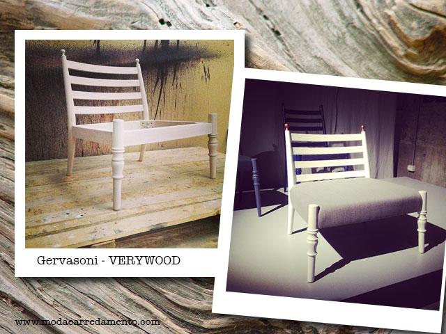 Very wood Gervasoni Chair