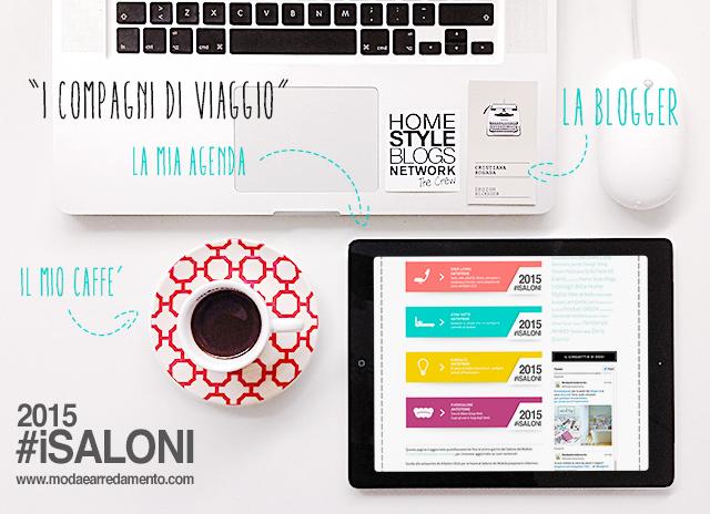 La mia agenda per il Salone del Mobile 2015 – Milano Design Week.