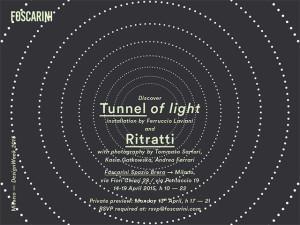 FOSCARINI ZONA BRERA TUNNEL OF LIGHT INVITO