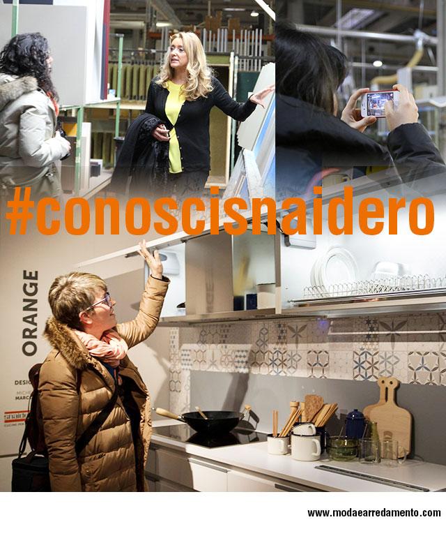 #conoscisnaidero blogger tour con HomeStyleBlogs e modaearredamento in Snaidero Cucine