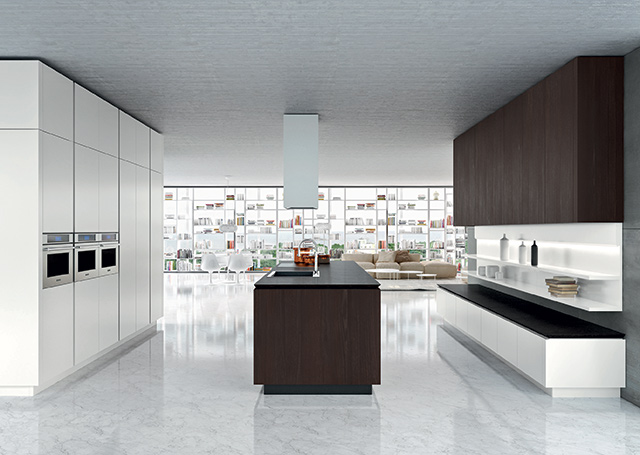 Snaidero Milano Design Week 2015 - cucina IDEA
