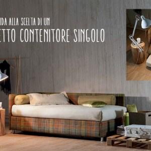 Immagine di copertina Oggioni letto contenitore singolo Force.