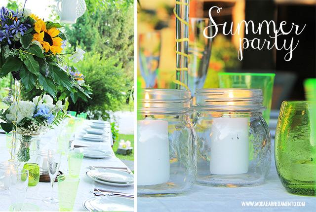 Summer party: come organizzare una cena estiva con barbecue.