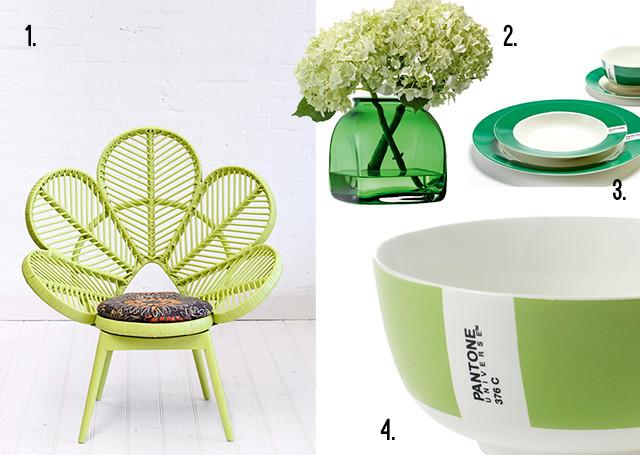 Verde in casa e in giardino.