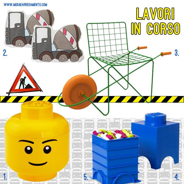 Design per bambini: lavori in corso.