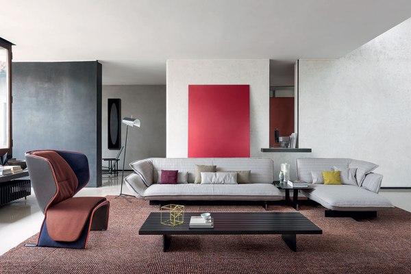 Salone del Mobile 2016 - tendenza divani : Cassina Beam divano moderno.