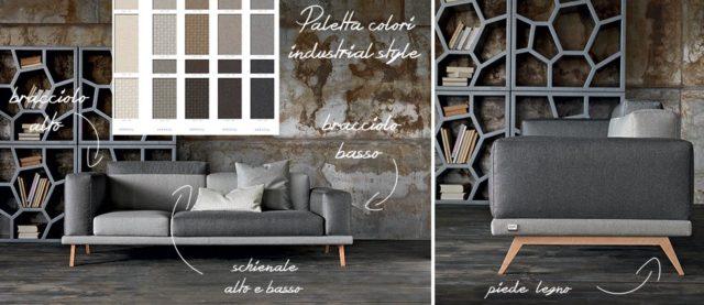 Under doimo divano personalizzabile.