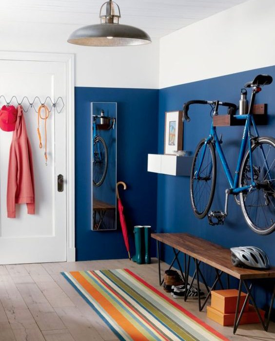 Tecniche per decorare casa: le pitture bicolore.