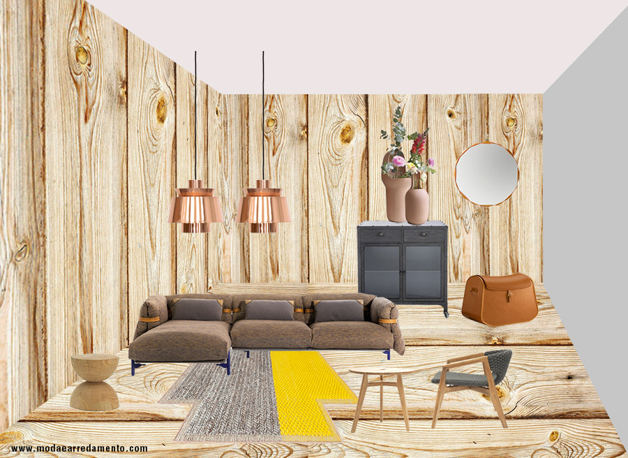 Tendenze arredo 2017 mix and match tra country e industrial for Tendenze arredamento 2017