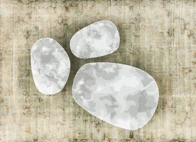 Cloud tavolini di servizio di Moroso.