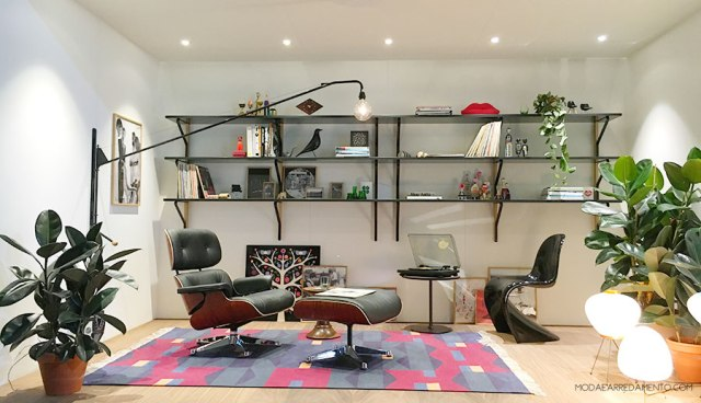 Home trends 2017 vitra soggiorno anni 70