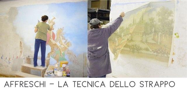 Affreschi moderni - intervista a alberto Mariani per scoprire la modernità degli affreschi - fasi della lavorazione.