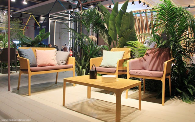 Nardi outdoor stand Milano Salone Mobile - 2