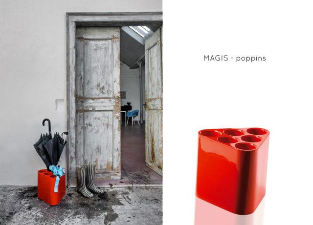 Portaombrelli di design - Magis modello Poppins
