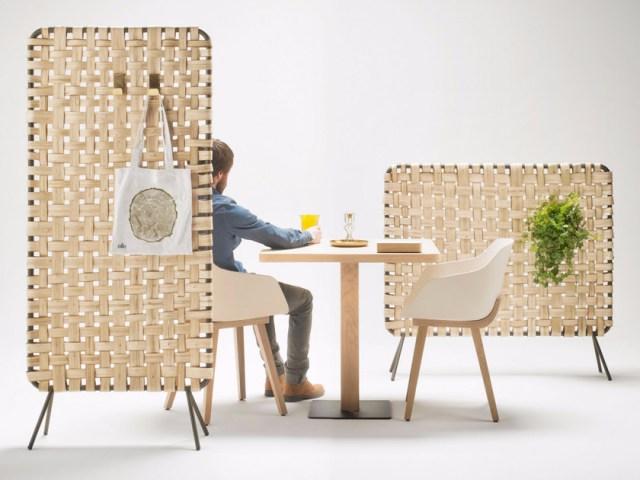 Divisori per interni: Paraventi di legno Zumitz.