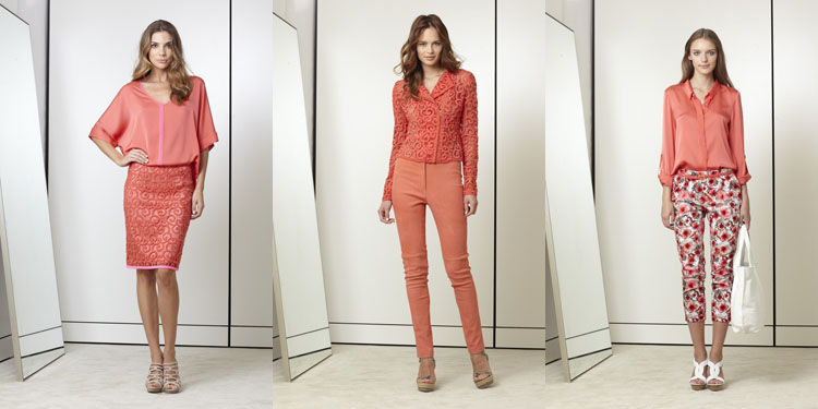tendencia looks coral