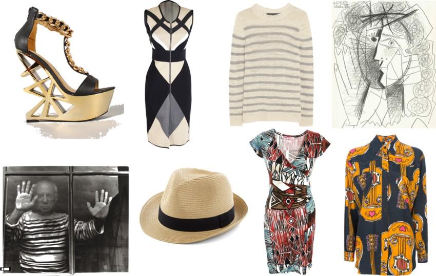 picasso y moda