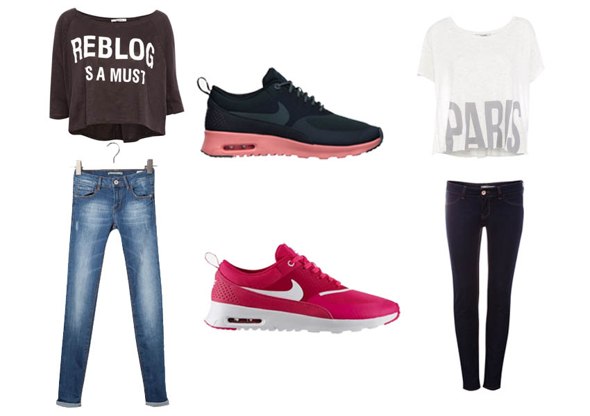 Pull and Bear, Nike