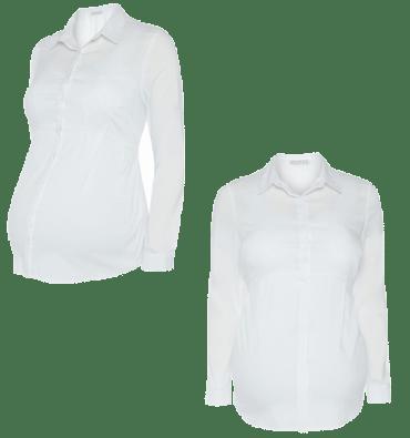 7d0699736 Primark premamá  camisas en blanco. by Moda en Calle. Camisas en blanco del  catálogo de Primark online colección de Premamá Otoño-Invierno 2014 15.
