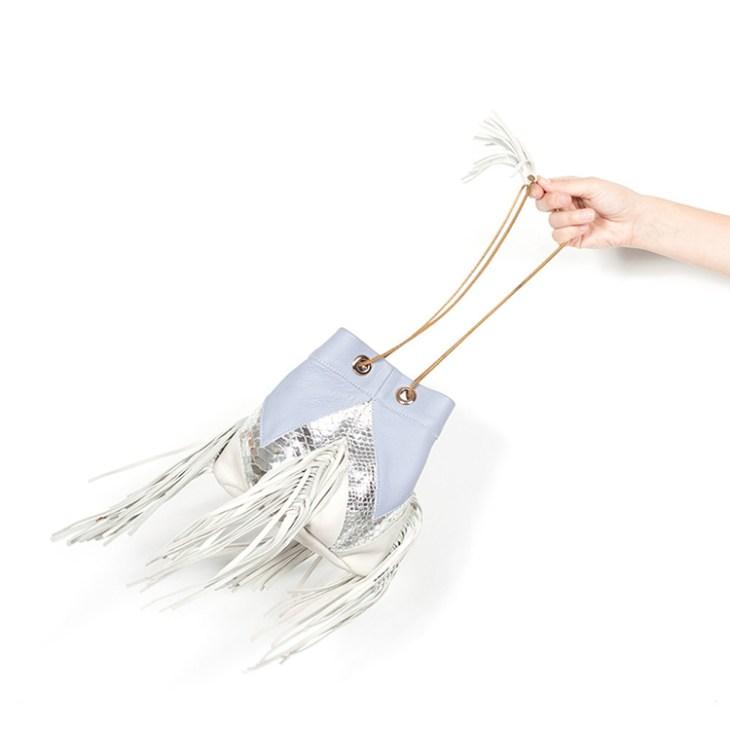 Sabrina fringes bag by BLTRX on www.modagrid.com