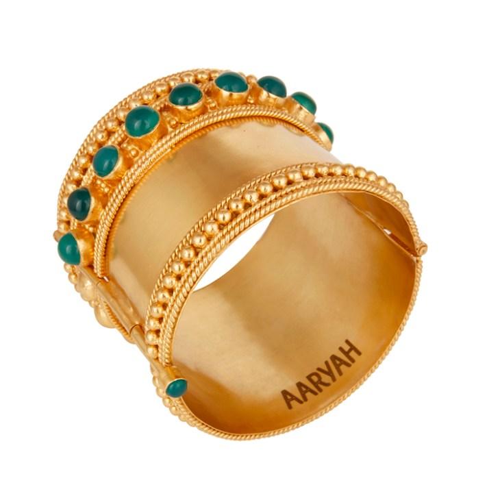 Kajal cuff by AARYAH on www.modagrid.com