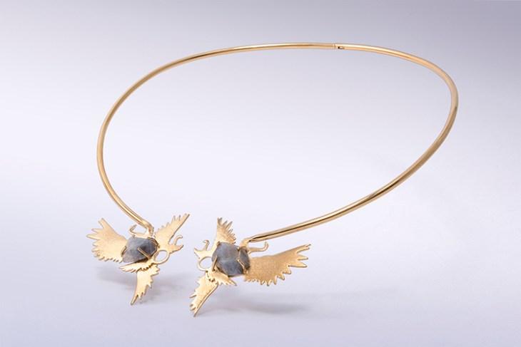 Hyrioos necklace by LA FIANCÉE DU FACTEUR on www.modagrid.com
