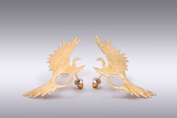 Meridaa earrings by LA FIANCÉE DU FACTEUR on www.modagrid.com