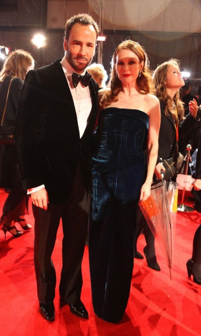 bafta awards-tom ford&julianne moore