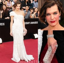 Oscars 2012-milla jovovich