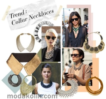 collar necklaces-trend