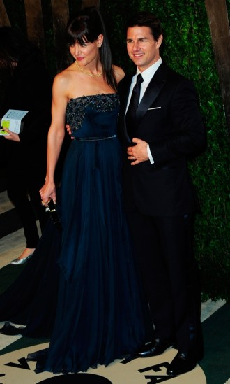 oscar after party-Katie Holmes And Tom Cruise